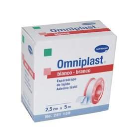 Esparadrapo Hipoalergico Omniplast Blanco 5 M X 2,5 Cm
