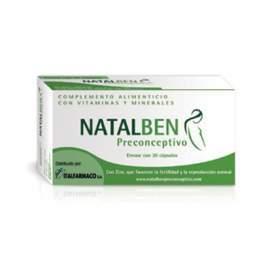 Natalben Preconceptivo 30 Capsulas BR