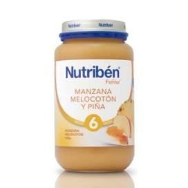 Nutriben Manzana Melocoton y Pina Potito Grandote 250 G