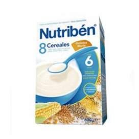 Nutriben Papilla 8 Cereales Galletas Maria 600 G
