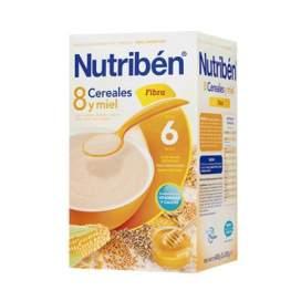 Nutriben Papilla 8 Cereales y Miel Fibra 600 G