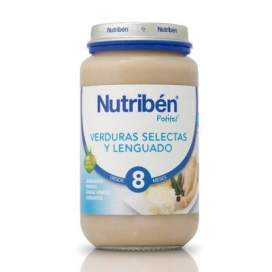 Nutriben Verdura Selecta y Lenguado Potito Grandote 250 G