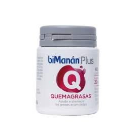 Bimanan Plus Q Quemagrasas 40 Capsulas