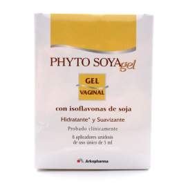 Phyto Soya Gel Vaginal 5Ml 8 Aplicadores