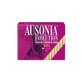 Ausonia Evolution Incontinencia Orina Muy Ligera Mini 18 U