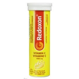 Redoxon Vitamina C 1000 Mg 30 Comprimidos Efervescentes Limon
