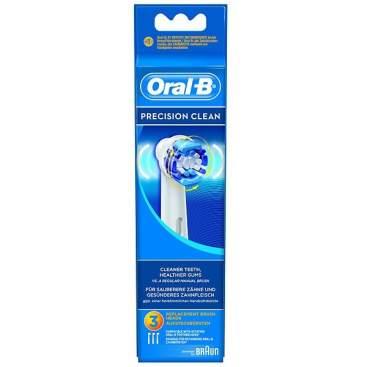 Recambio Cepillo Electrico Oral B Precision Clean Eb 17-3 3 U