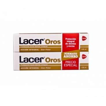Lacer Oros Pasta Dental 2X125Ml Duplo