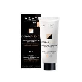 Vichy Dermablend Corporal Fondo de Maquillaje Medio 100 Ml