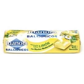 Juanola Caramelos Limon Vit C y Hierbas Mediterraneas 30 G