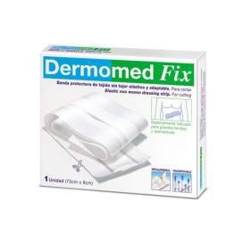 Dermomed Fix Aposito Adhesivo Banda 75 Cm X 8 Cm EN