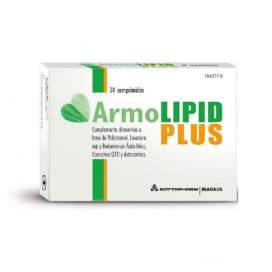 Armolipid Plus 20 Comprimidos EN