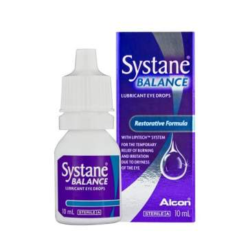 can i use systane balance with contacts