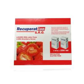 Recuperat-Ion Suero Oral S.R.O. 250 Ml 2 Brik Fresa