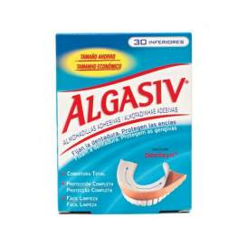 Algasiv Almohadillas Adhesivas Protesis 30 U Inferior