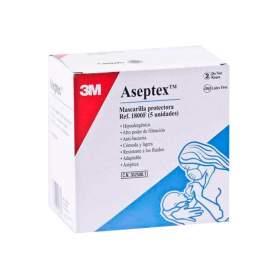 Mascarilla Proteccion Aseptex 5 U BR