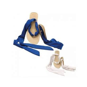Scholl Sandalia Pocket Ballerina Romanas Blanco/Azul 39/40