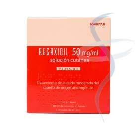 Regaxidil 50 Mg/Ml Solucion Cutanea 2 Frascos 60 Ml