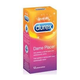 Durex Pleasuremax Preservativos 12 U
