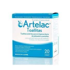 Artelac 20 Toallitas Esteril