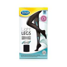 Scholl Medias Compresion 60 Den Light Legs Negro T-L