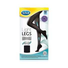 Scholl Medias Compresion 60 Den Light Legs Negro T -XL