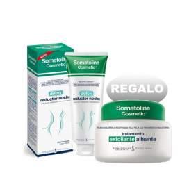 Somatoline Cosmetic Detox Reductor Noche 400Ml + Exfoliante Regalo