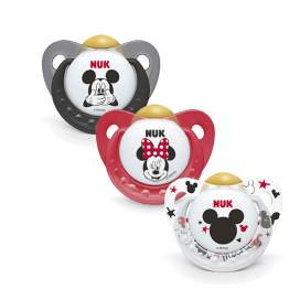 Chupete NUK Mickey Mouse 6-18 M Látex 1 ud