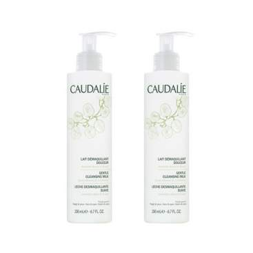 Caudalie Gentle Cleansing Milk Duo 2x200Ml