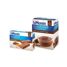 Bimanan Sustitutive Natillas Choco 5 Sobres + Barritas Komplett Choco Crujiente 8U