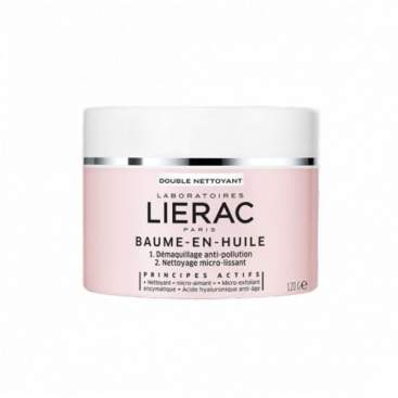 Lierac Balm Cleansing Oil for Dry Skin 120GR