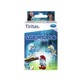 Tiritas Aposito Adhesivo Pitufos 3 Tamaños 14 U