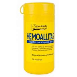 Hemoallitas Higiene Anal 50 Toallitas