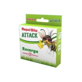 Repel Bite Attack Pulsera + 2 recargas