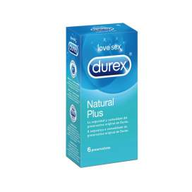 Durex Natural Plus Preservativos 6U