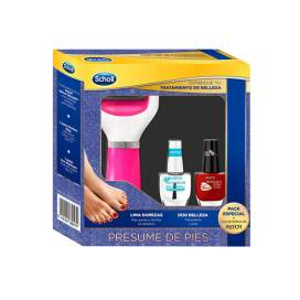 Scholl Velvet Smooth Lima Rosa+Duo Belleza Astor