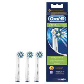 Recabio Cepillo Electrico Oral B Cross Action 3 Cabezales EB50-3