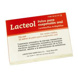 Lacteol 10 Sobres Polvo Suspension Oral