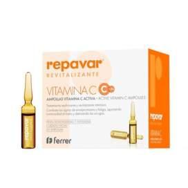 Repavar Revitalizante Vitamina C 20 Ampollas