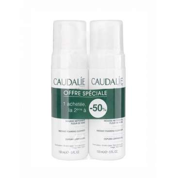 Caudalie Duo Foaming Cleanser 150ml + 150ml
