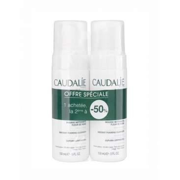 Caudalie Duo Foaming Cleanser 150ml + 150ml