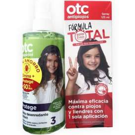 Pack OTC Spray Antipiojos 125Ml+Spray Desenredante 250Ml