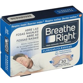 Breathe Right Tira Nasal Color Grandes 30 U