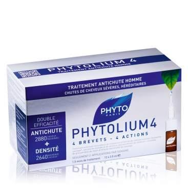 Phytolium 4 Tratamiento Anti-Caida Estimulador De Crecimiento 12 Dosis