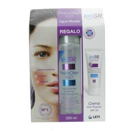 Pack Leti SR Crema sin Color 50Ml + Agua Micelar Probioclean 200Ml
