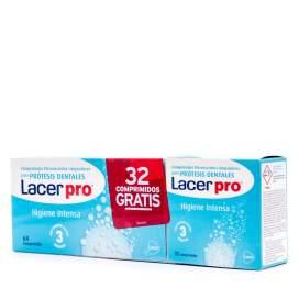 Lacerpro Comprimidos Efervescentes Limpieza Protesis 64 Comprimidos