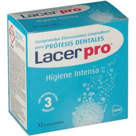 Lacerpro Comprimidos Efervescentes Limpieza Protesis Dental 32 Comprimidos
