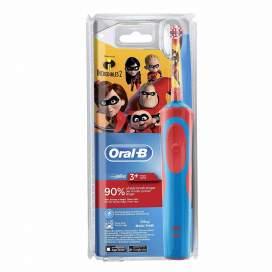 Cepillo Electrico Recargable Oral B Vitality Cross Action Los Increibles 2