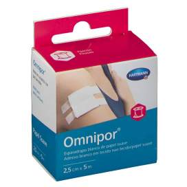 Esparadrapo Hipoalergico Omnipor De Papel 5 M X 2,5 Cm