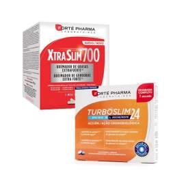 Xtraslim 700 120 Capsulas + Turboslim Cronoactive 56 Comprimidos
